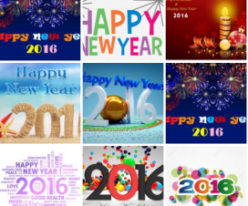 Happy New Year 2016 Wallpapers HD