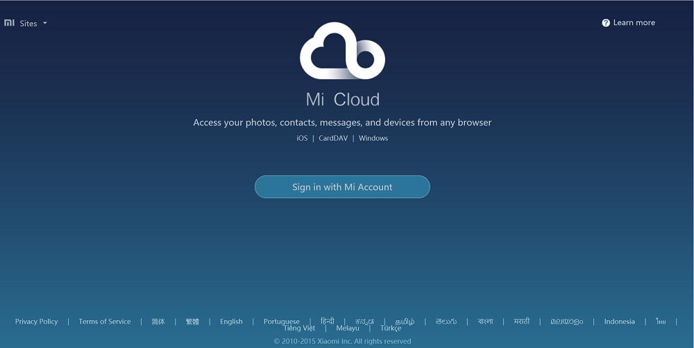 Download Mi Cloud Desktop app for Windows, Mac- Access