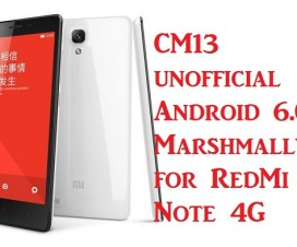 xiaomi redmi note 4g Android Marshmallow