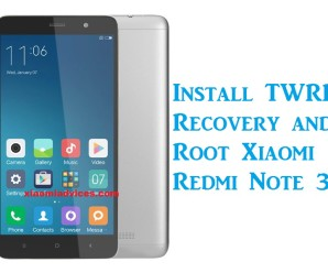 xiaomi redmi note 3 twrp root