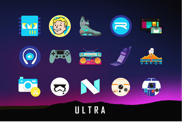 Ultra icon pack apk