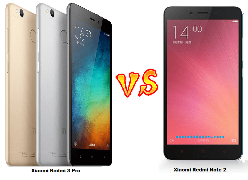 Xiaomi Redmi Note 4 Vs Redmi Note 3: Xiaomi Redmi 3 Pro Vs Redmi Note 3 Vs Redmi Note 2