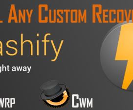 Download Flashify CWM TWRP recovery tool