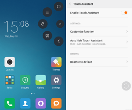 MIUI 8 touch assistant Function on MIUI 7 China-Developer-ROM-6.5.19
