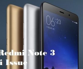 Xiaomi Redmi Note 3 WiFi issue fix