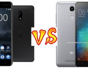 Nokia 6 vs Xiaomi Redmi Note 3 compare
