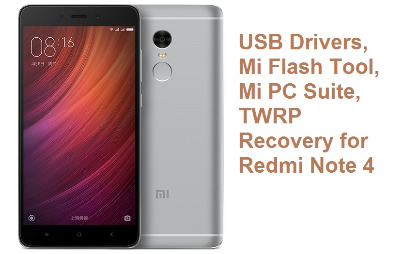 Xiaomi-Redmi-Note-4 Mi Flash tool usb drivers