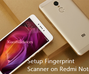 redmi note 4 fingerprint scanner