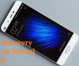 Enter recovery mode on Xiaomi miui phones