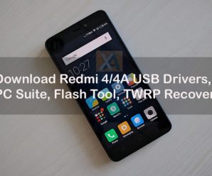 Redmi 4 USB Drivers PC Suite copy
