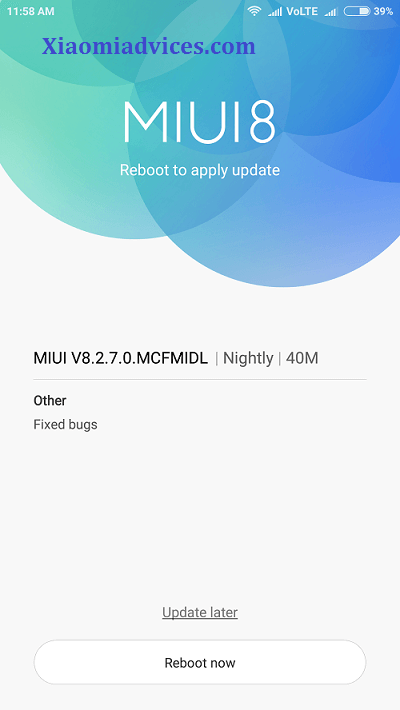 Redmi Note 4 new update1