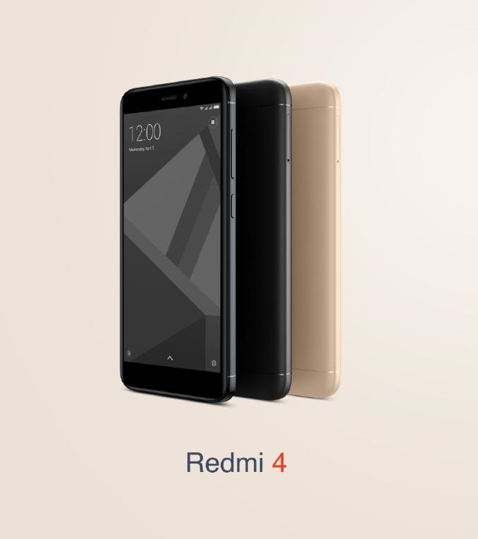 Xiaomi Redmi 4 Price in India