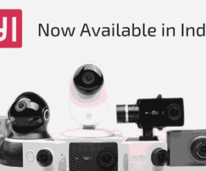 Yi Camera India launch