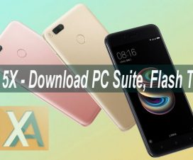 Xiaomi Mi 5X usb drivers PC suite