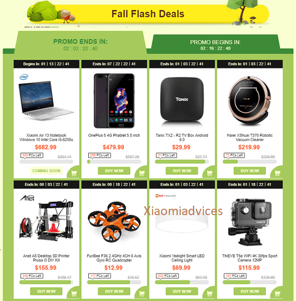 GearBest Super Bumper Harvest Sale4