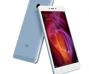 Xiaomi Redmi Note 4 Lake Blue color