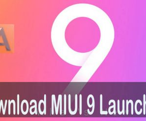 MIUI 9 Launcher Download