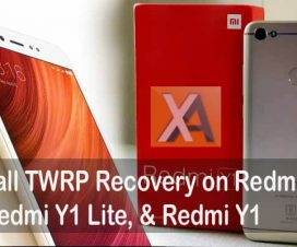 TWRP Recovery for Redmi 5A Redmi Y1 Lite