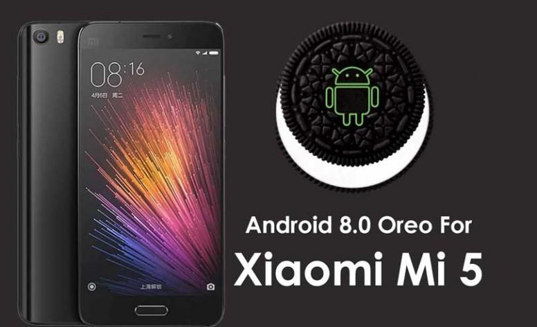 Mi 5 Android 8.0 Oreo update download
