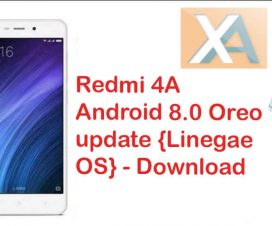 Redmi 4a Android 8.0 Oreo update download