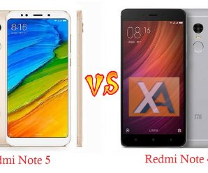 Redmi Note 5 vs Redmi Note 4 compare